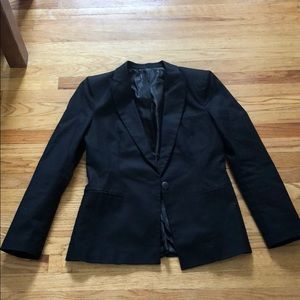 Jackets & Blazers - Black Single Button Blazer